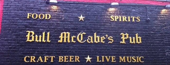 Bull McCabe's Pub is one of Boston.