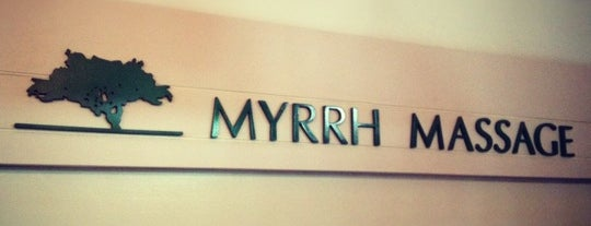 Myrrh Massage is one of Locais curtidos por Urban Organic.