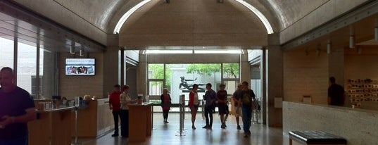 Kimbell Art Museum is one of Texas.