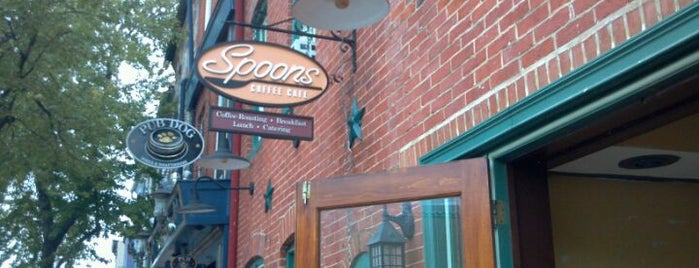 Spoons Cafe is one of Coffee & Cafe's.