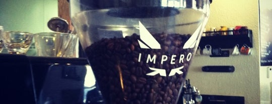 Impero Coffee is one of Columbus coffee.