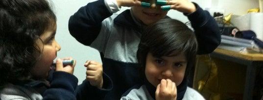 Colegio San Francisco De Asis Para Niños Sordos is one of Tempat yang Disukai Conti.