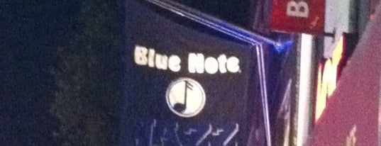 Blue Note is one of NY To Do.