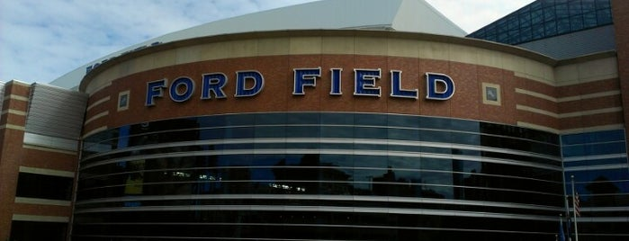 Ford Field is one of US Pro Sports Stadiums - ALL.