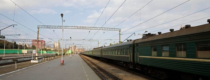 Dəmiryol Vağzalı | Baku Railway Station is one of Baku Places To Visit.