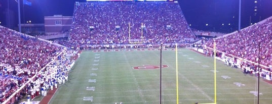 Gaylord Family Oklahoma Memorial Stadium is one of Play Like a Champion.
