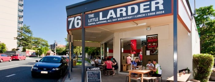 The Little Larder is one of Lieux qui ont plu à Hello Couture.