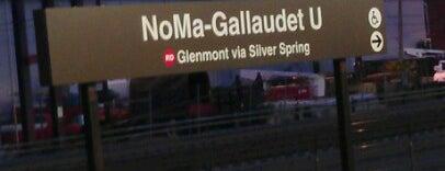 NoMa-Gallaudet U Metro Station is one of DC Metro Insider Tips.