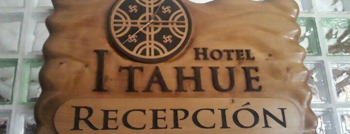 Hotel Itahue is one of Tempat yang Disukai Héctor.