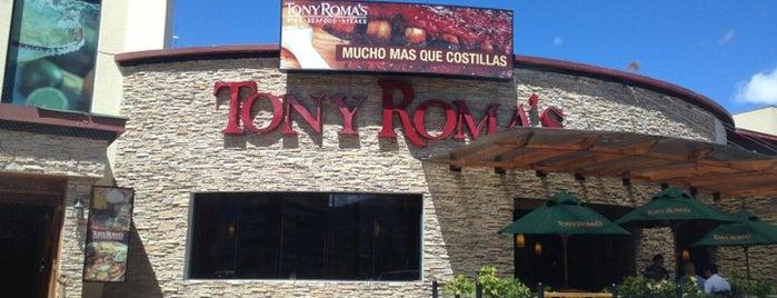 Tony Roma's is one of Locais curtidos por Antonio Carlos.