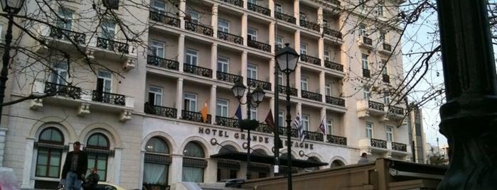 Hotel Grande Bretagne is one of Best Restaurant Views. Ever.