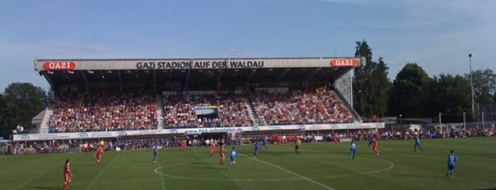 GAZi-Stadion auf der Waldau is one of International Sports~Part 1....