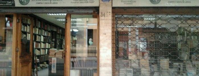Libreria El Cid Campeador is one of Cuando esté en Santiago.