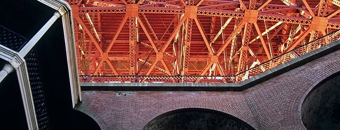 Fort Point National Historic Site is one of Top 5 places to photograph the Golden Gate Bridge.
