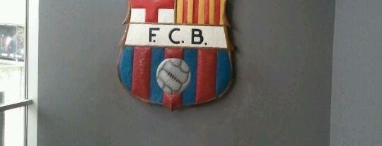 FCバルセロナ博物館 is one of Museus de Barcelona.
