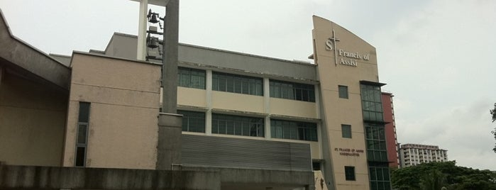 Church of St. Francis of Assisi is one of Singapore Catholic Churches (West).