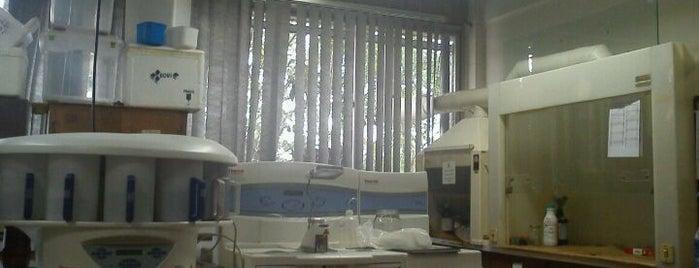 Laboratório de Toxicologia Celular is one of UFPR - Centro Politécnico.