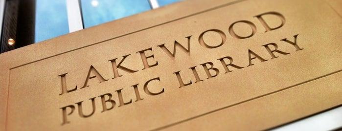 Lakewood Public Library - Main Branch is one of John'un Beğendiği Mekanlar.
