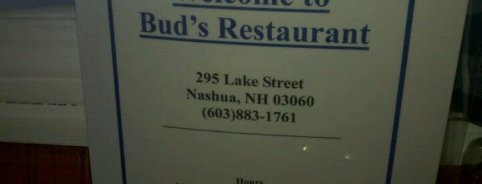 Bud's Restaurant is one of You're here, do it!.