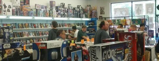 The Comic Book Shop is one of Do: Wilmington ☑️.