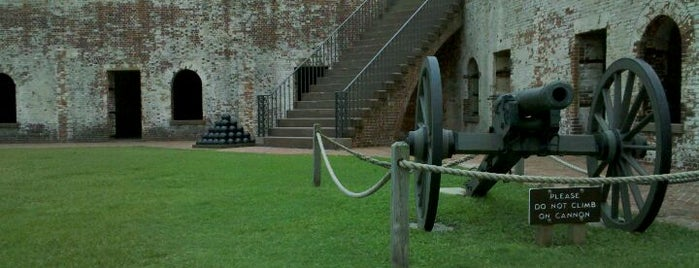 Fort Macon State Park is one of Atlantic Beach To-Do List.