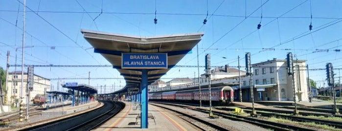 Bratislava Central Station is one of Bratislava.