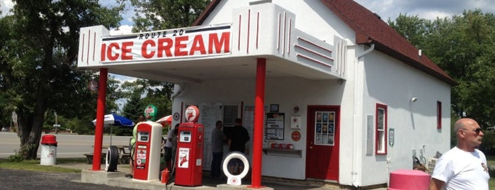 Route 20 Ice Cream is one of Buffalo.
