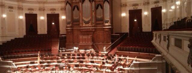 Het Concertgebouw is one of Amsterdam.