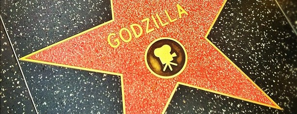 Godzilla's Star, Hollywood Walk of Fame is one of California - In & Around L.A. & Hollywood.