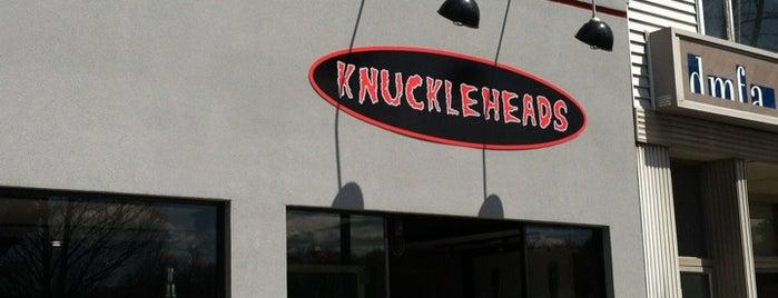 Knuckleheads is one of Sean : понравившиеся места.