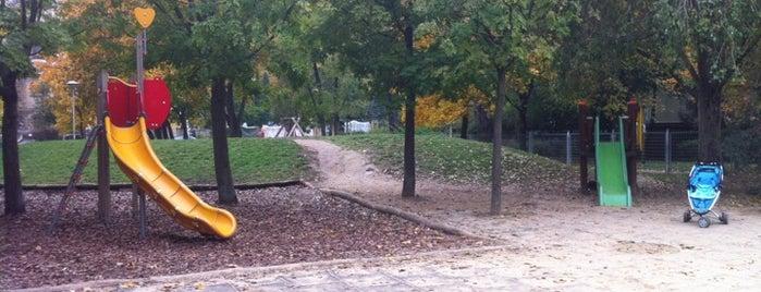 Szent Család Park, Játszótér is one of István's Liked Places.