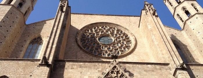 Basílica de Santa María del Mar is one of Barcelona City Guide.