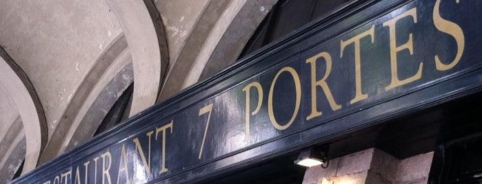 7 Portes is one of Paella Restaurants in Barcelona.