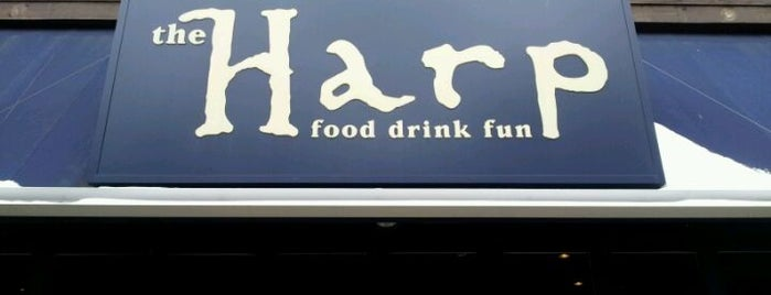 The Harp is one of Boston Bars.