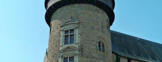 Vieux-Château de Laval is one of Châteaux de France.