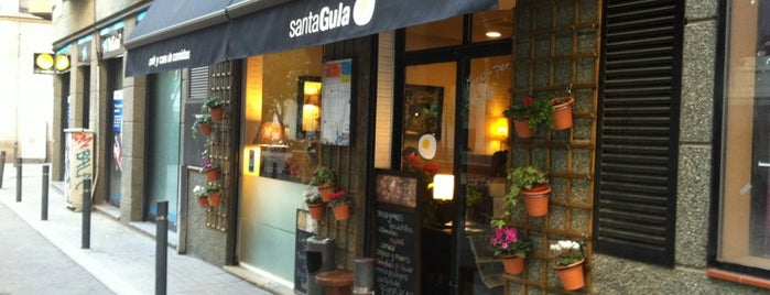 Santa Gula is one of Bcn secrets.