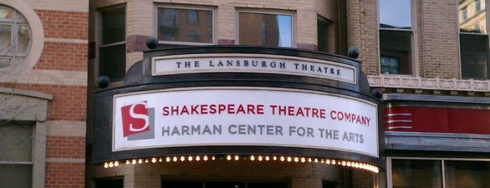 Shakespeare Theatre Company - Lansburgh Theatre is one of Jake : понравившиеся места.