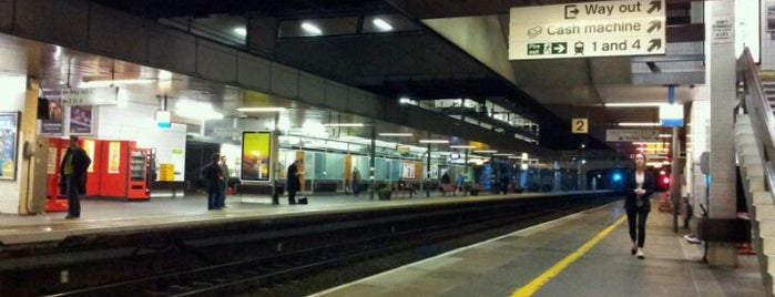 Coventry Railway Station (COV) is one of You calling me a train spotter?.
