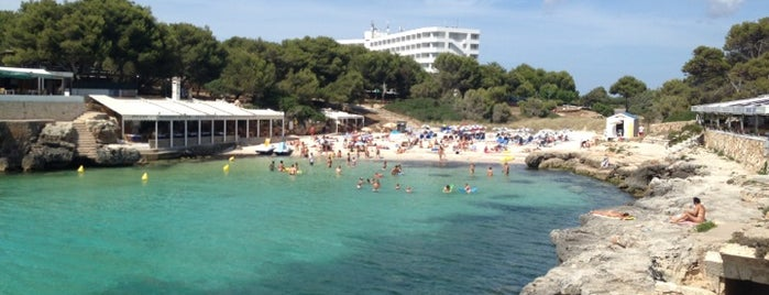 Platja Cala Blanca is one of Menorca calas.