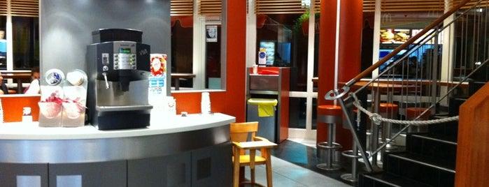McDonald's is one of Orte, die Ozgun gefallen.