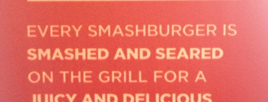 Smashburger is one of Lunch.