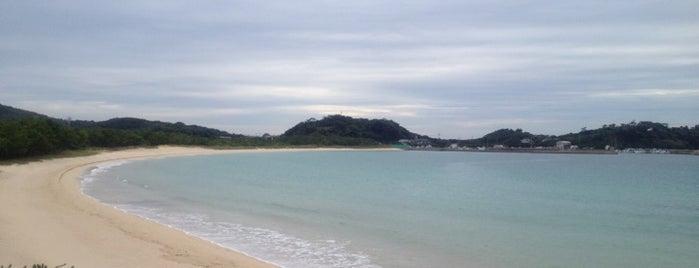 筒城浜海水浴場 is one of 日本の白砂青松100選.