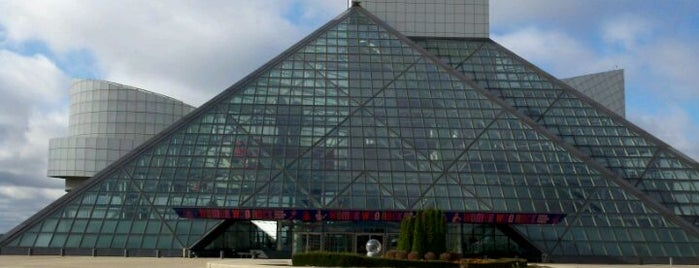 Rock & Roll Hall of Fame is one of Local Favorites in Cleveland, OH #VisitUS.