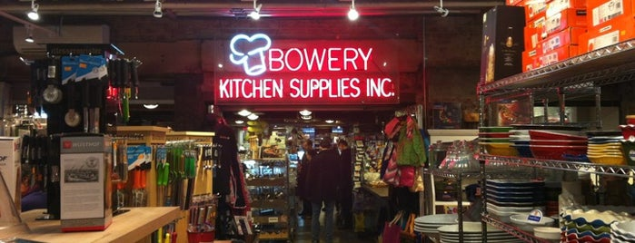 Bowery Kitchen Supplies is one of New York the definitive list.