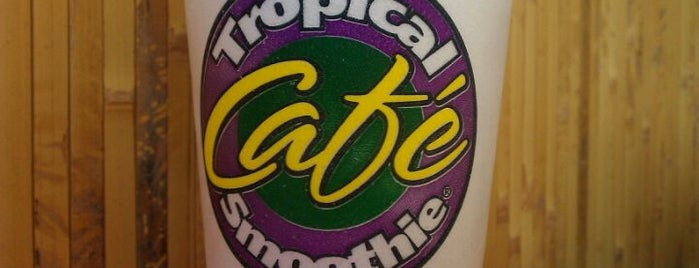 Tropical Smoothie Cafe is one of Lugares favoritos de Camille.