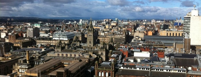 Livingstone Tower is one of Student Life in Glasgow.