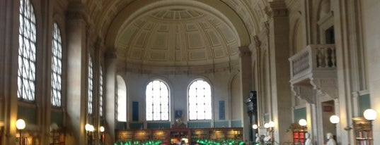 Boston Public Library is one of BOS.