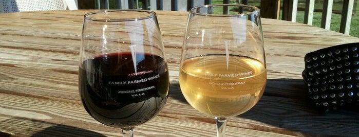 Va La Vineyards is one of Vineyards, Breweries, Beer Gardens.