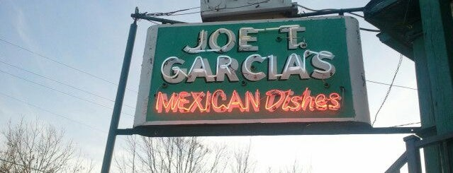 Joe T. Garcia's is one of Ft Worth List.
