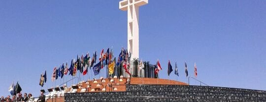 Mt Soledad Veterans Memorial is one of San Diego's 59-Mile Scenic Drive.